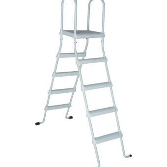 Escalera Elevada con Plataforma