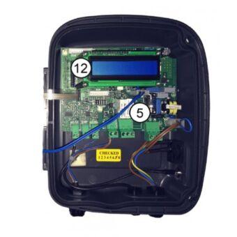 Carta electrónica con pantalla LCD azul (desde 2008) W013022