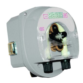 La bomba peristáltica pH Ctx E-Series es un equipo de control y dosificación del pH