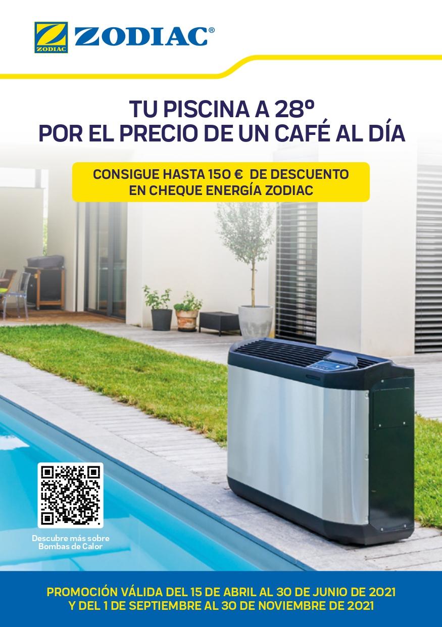 Bombas de calor, climatizamos su piscina en Sevilla