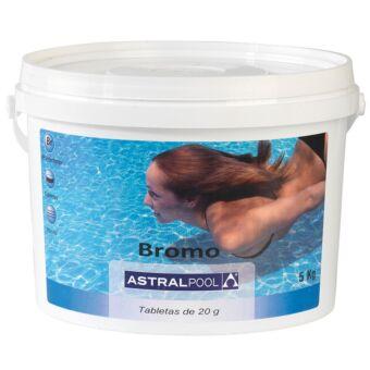 Bromo AstralPool tabletas 20gr 5KG