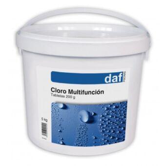 Cloro Multifunción DAF 3, 4 y 5 acciones