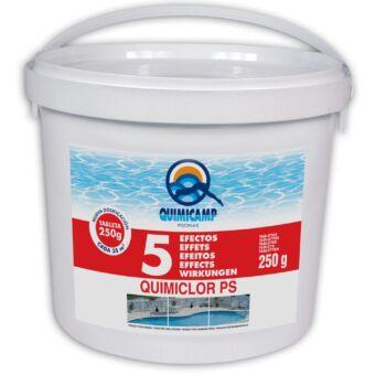 Cloro 5 Acciones Quimicamp T-250g 5kg