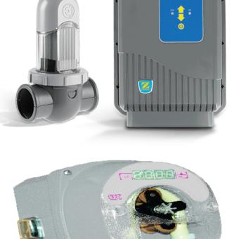 Clorador Salino Zodiac Ei2 25gr más Regulador de ph CTX E-Series