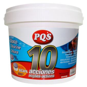 Cloro 10 Acciones PQS 5kg T-250g