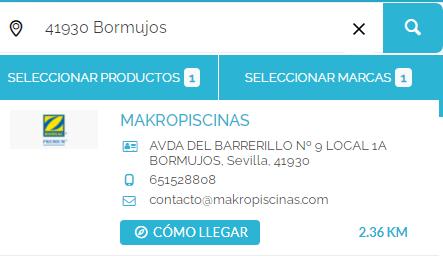 Distribuidor oficial de Fluidra en Sevilla