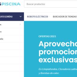 Tiendaspiscina la web de los distribuidores de Fluidra
